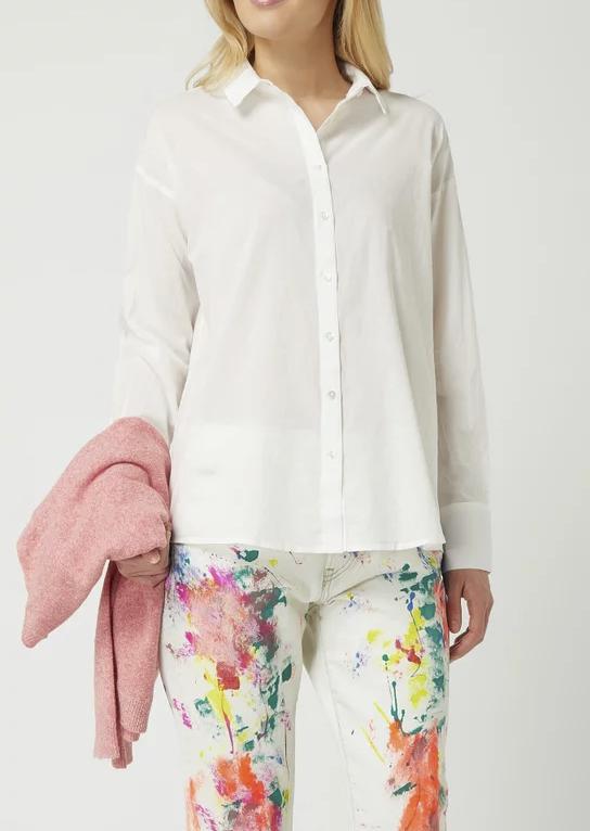 Vero Moda Bluse aus Organic Cotton Modell 'India' in weiß für 11,19€ inkl. Versand (statt 22€)