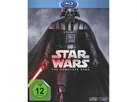 Media Markt Gönn Dir Dienstag - z.B. Star Wars Complete Saga für 59€ inkl. VSK