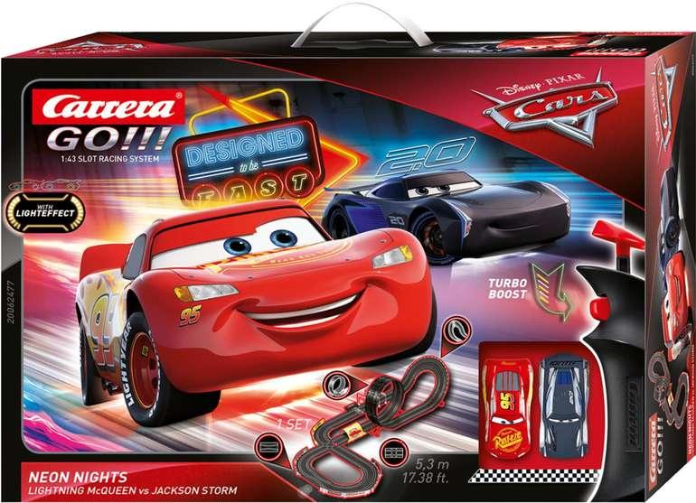 Carrera GO!!! Autorennbahn Disney Pixar Cars Neon Nights für 38,99€ inkl. Versand (statt 55€)