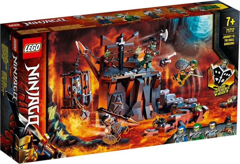 LEGO 71717 Ninjago - Reise zu den Totenkopfverliesen für 15,99€ - Prime Versand!
