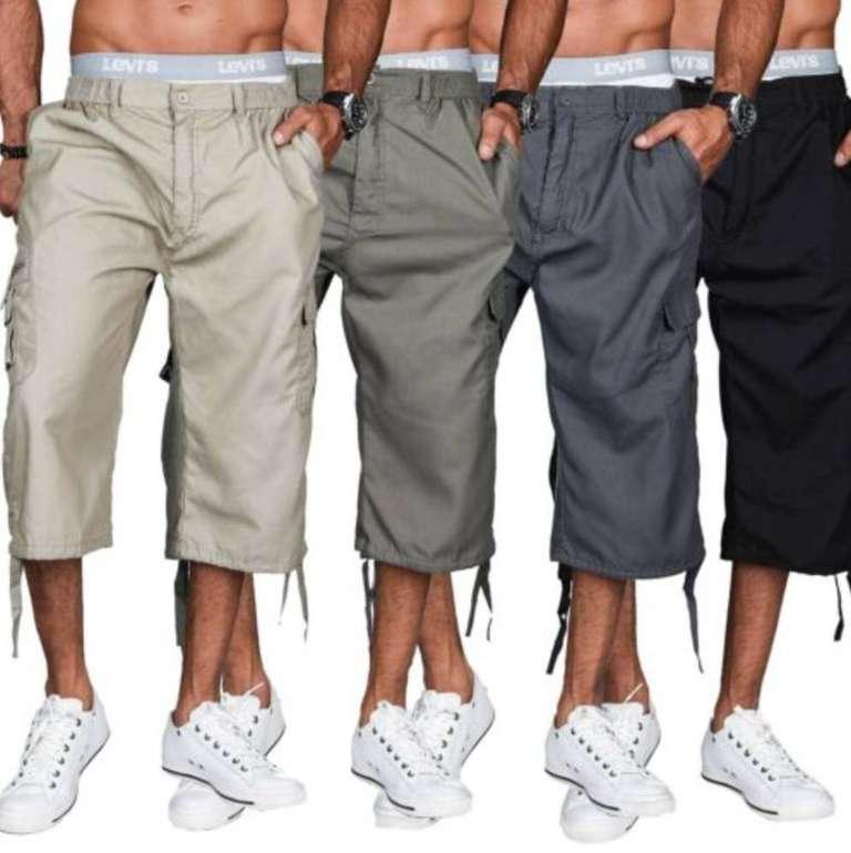 Golden-Brands-Selection Herren 3/4 Bermuda Cargo Shorts für je 11,90€