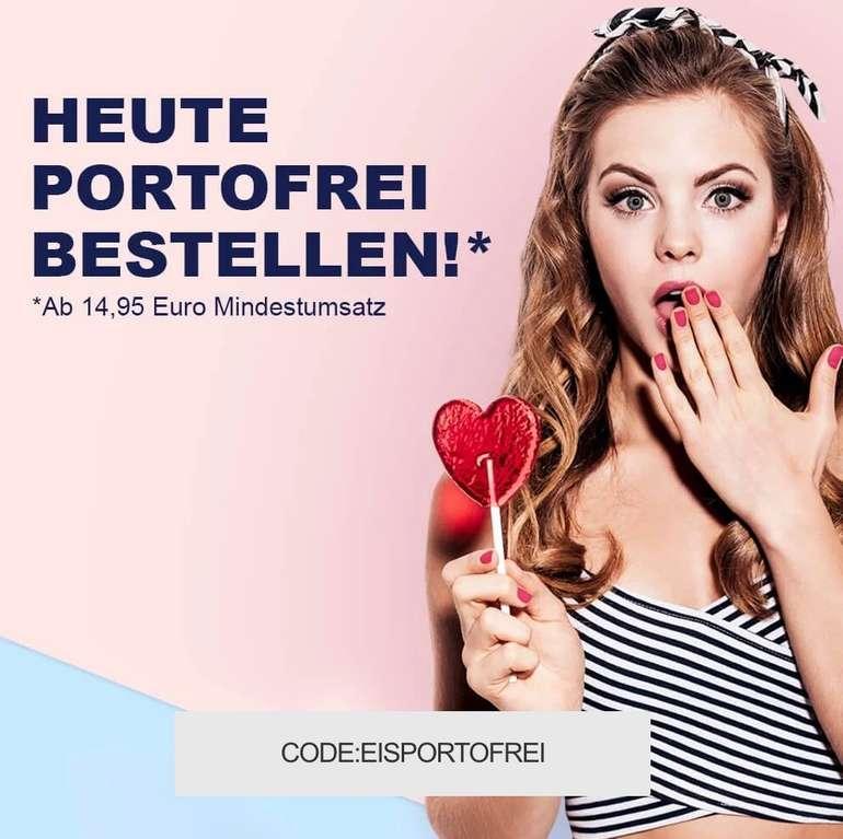 Eis.de heute ohne Versandkosten (MBW: 14,95€) - Artikel schon ab 1,99€ + Viele Gratisartikel!