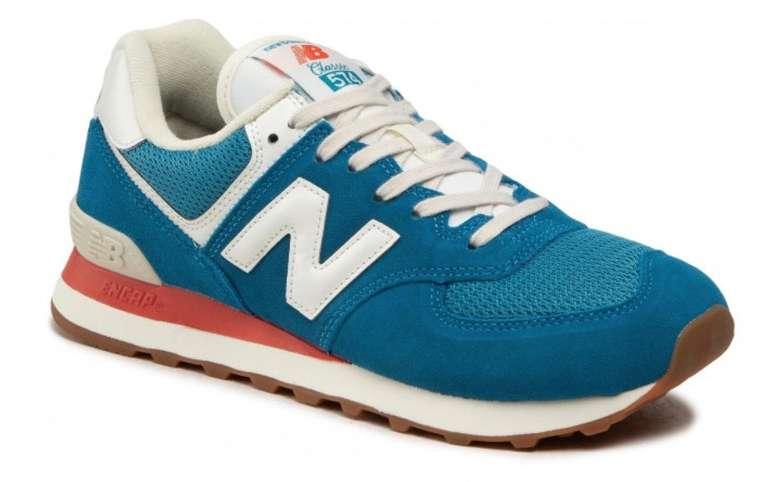 New Balance ML574HC2 Herren Sneaker in blau für 59€ inkl. Versand (statt 90€)