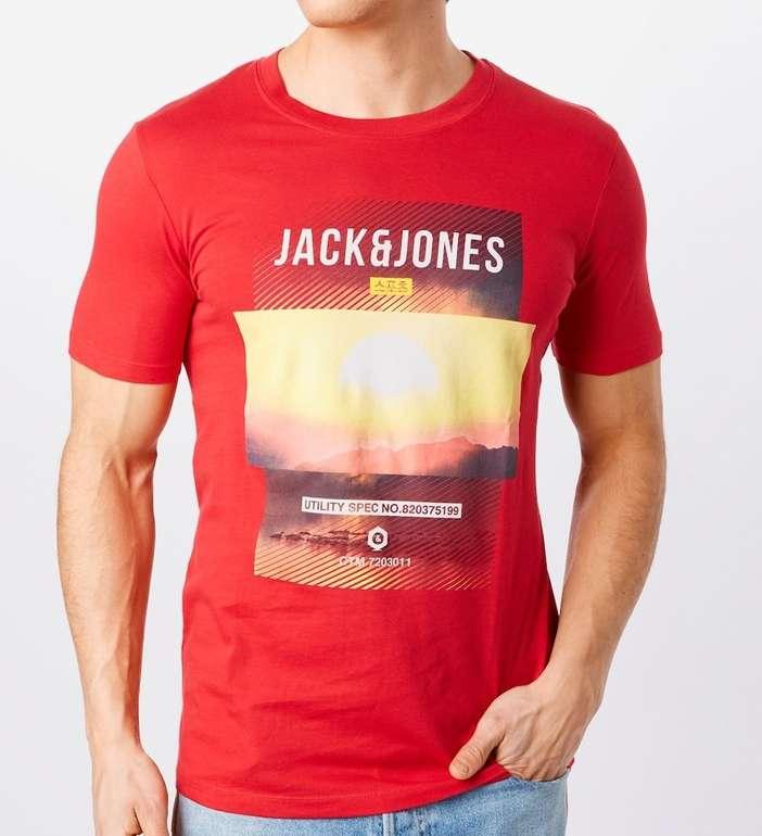Jack & Jones T-Shirt in rot für 7,50€ inkl. Versand (statt 12€)