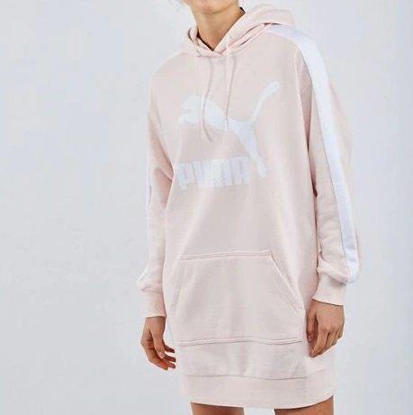 Puma Classics T7 Hooded Damen Kleid für 39,99€ (statt 58€)