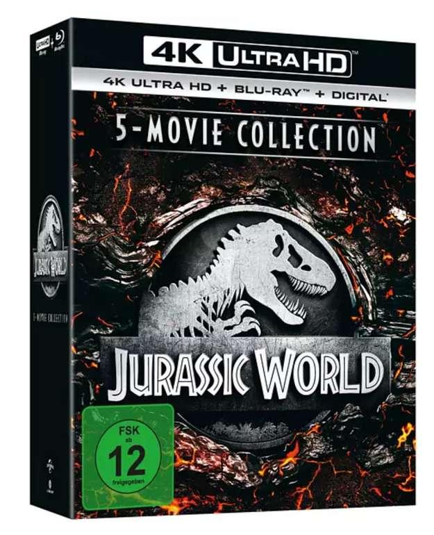Jurassic World - 5-Movie Collection 4K Ultra HD Blu-ray für 52,64€inkl. Versand (statt 71€)