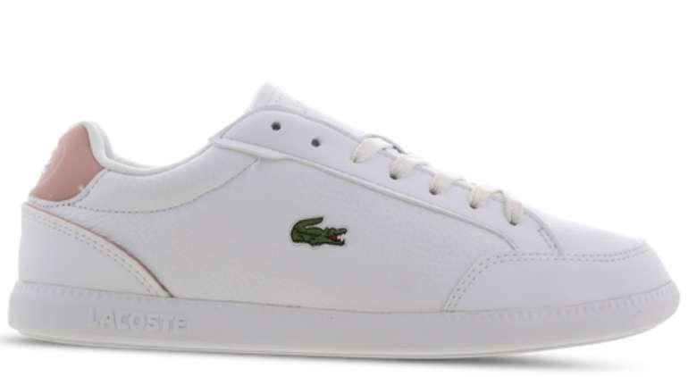Lacoste Graduate Cap Damen Schuh in Weiß für 49,99€inkl. Versand (statt 75€)
