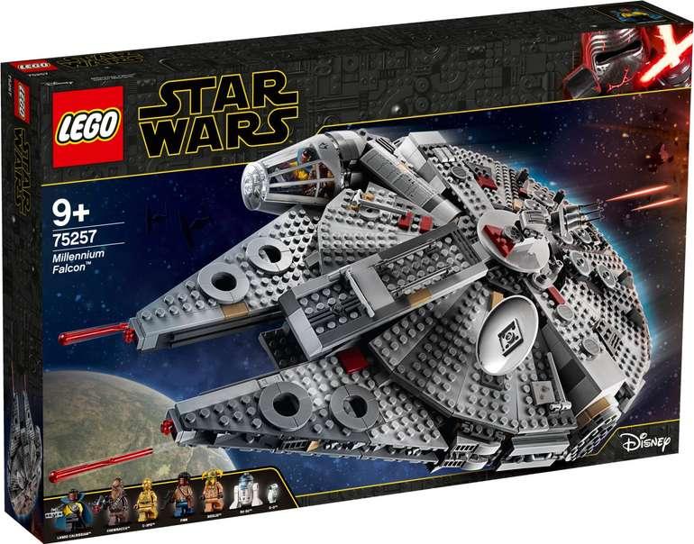 LEGO 75257 Star Wars - Millennium Falcon für 109,89€ (statt 140€)