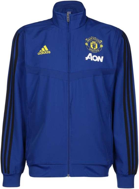 Adidas Manchester United Herren Präsentationsjacke in 2 Farben für je 29,99€ inkl. Versand (statt 42€)