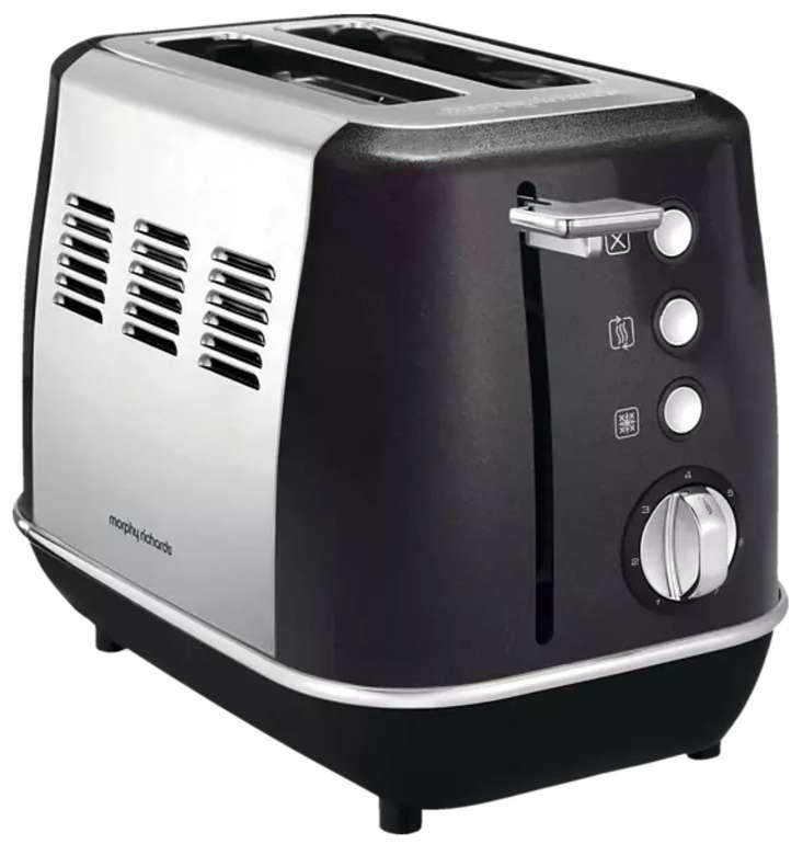 Morphy Richards 224405 EE Evoke Toaster Schwarz (900 Watt, Schlitze: 2) für 24,99€ inkl. Versand (statt 51€)