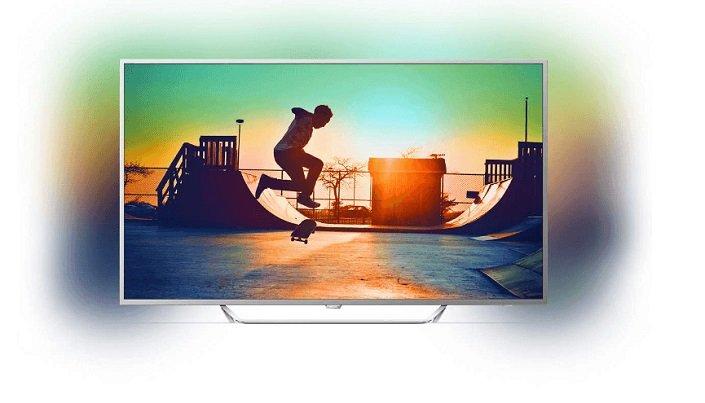 Philips 65PUS6412/12 - 65 Zoll 4K LED-Fernseher mit Ambilight für 999€