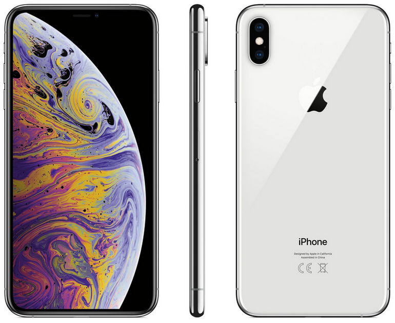Apple iPhone XS 512GB silber - ohne Simlock, Neu, OVP für 1269,90€ (statt 1430€)