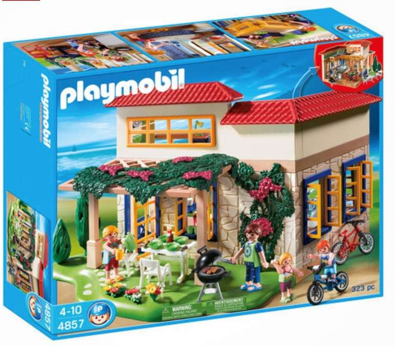 Playmobil Family Fun - Ferientraumhaus (4857) für 33,94€ inkl. Versand (statt 46€)