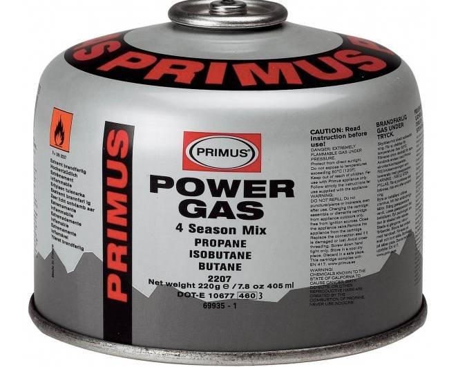 Primus PowerGas Gaskartusche (je 100g) für 5,13€ inkl. Versand (statt 7,36€)