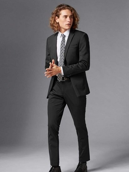 Guido Maria Kretschmer Anzug in Schwarz (50 / 54) für 49,29€ (statt 140€)