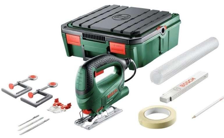 Bosch PST 700 ReadyToSaw Stichsäge mit 500 Watt + System Box und Zubehör für 49€ (statt 87€)