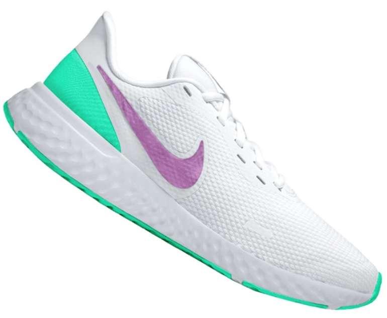 Geomix: Nike Damen Sale mit mindestens 40% Rabatt + VSKfrei - z.B. Nike Revolution V Sneaker für 38,46€ (statt 47€)