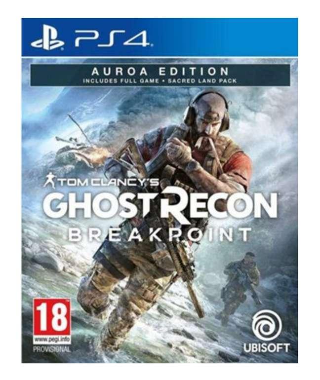 Tom Clancy's Ghost Recon: Breakpoint Auroa Edition (PS4) für 15,50€ inkl. Versand (statt 25€)