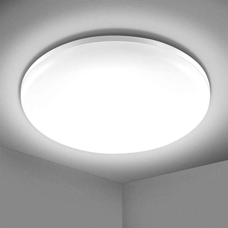 Efelandhome 24W LED Deckenleuchte (5000K, IP54) für 10,99€ inkl. Prime Versand (statt 22€)