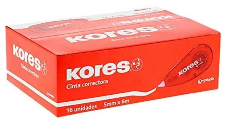 Preisfehler? 16er Pack Kores Korrekturroller (5 mm x 6 m) für 5,09€ inkl. Prime Versand (statt 18€)