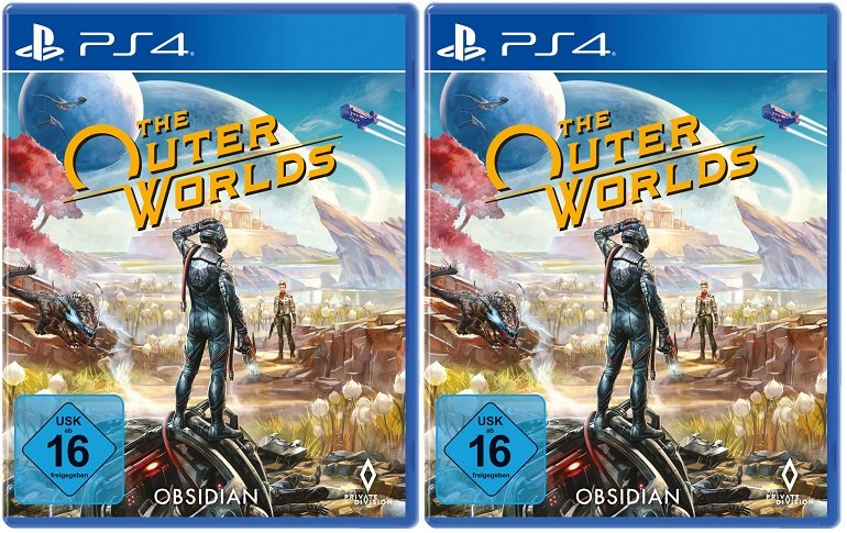 Saturn Entertainment Weekend Deals, z.B. Doppelpack The Outer Worlds (PS4) für 59€ (statt 93€)