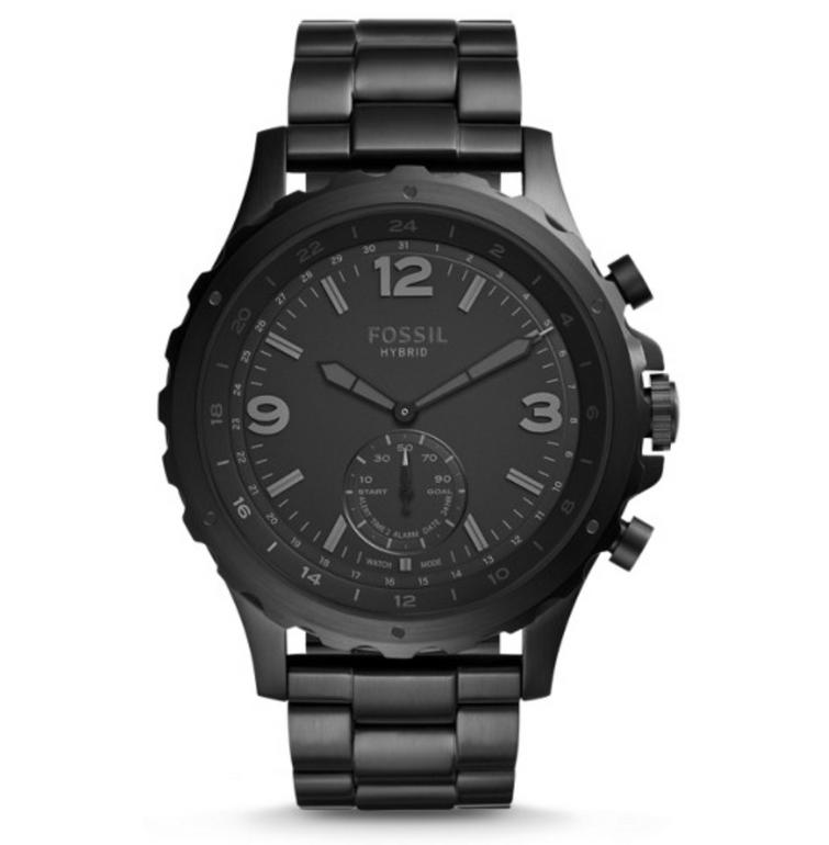 Fossil FTW1115P Q Nate Hybrid Herren Smartwatch für 84,15€ (statt 169€)