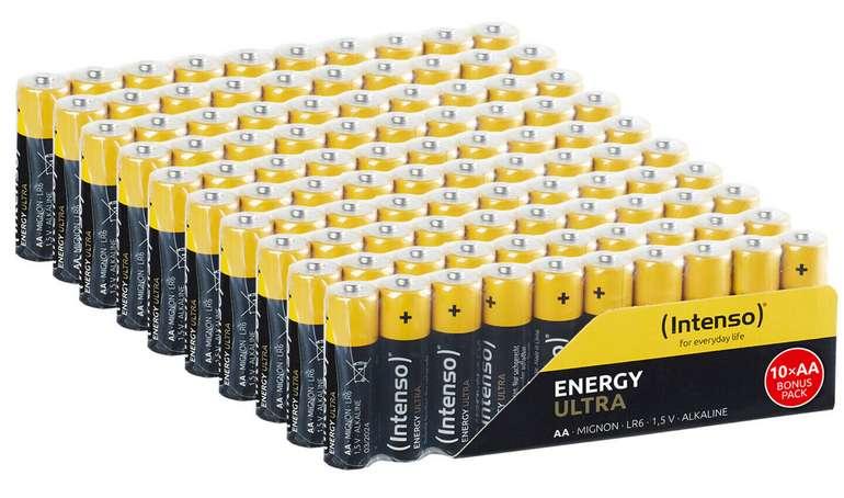 100x Intenso Energy Ultra AA Mignon Alkaline Batterien für 17,99€ inkl. Versand (statt 21€)