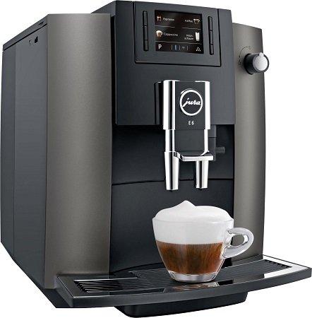 Jura E6 Kaffeevollautomat in Dark Inox für 599€ inkl. Versand (statt 662€)