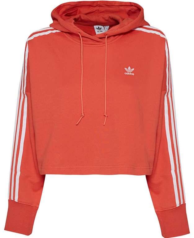 adidas Originals Cropped Damen Hoodie in Rot für 31,94€ inkl. Versand (statt 50€)
