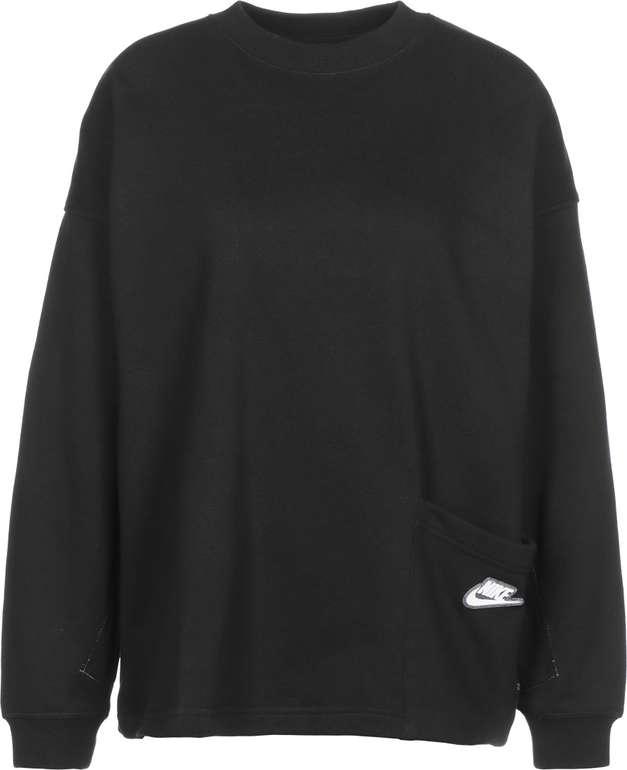 Nike Sportswear - Lockerer Damen Sweater in Schwarz für 40,80€ inkl. Versand (statt 48€)