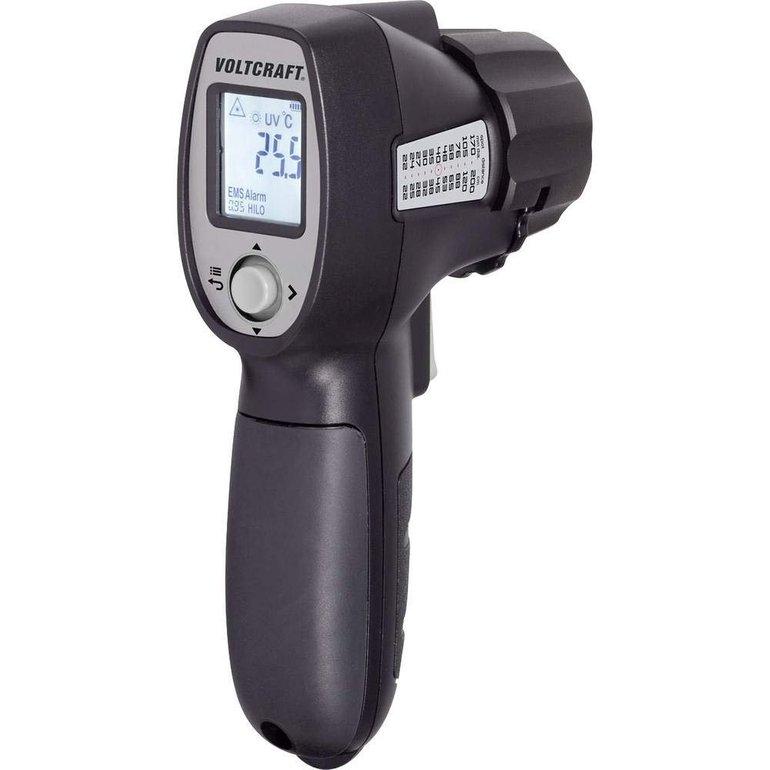 Voltcraft IRU 500-12 Infrarot-Thermometer (Optik 12:1) mit LED Taschenlampe für 22€