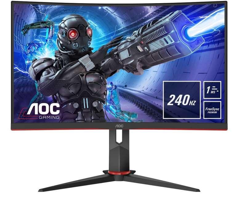 AOC C32G2ZE/BK Curved Gaming-Monitor mit 31,5 Zoll für 269,99€inkl. Versand (statt 303€)