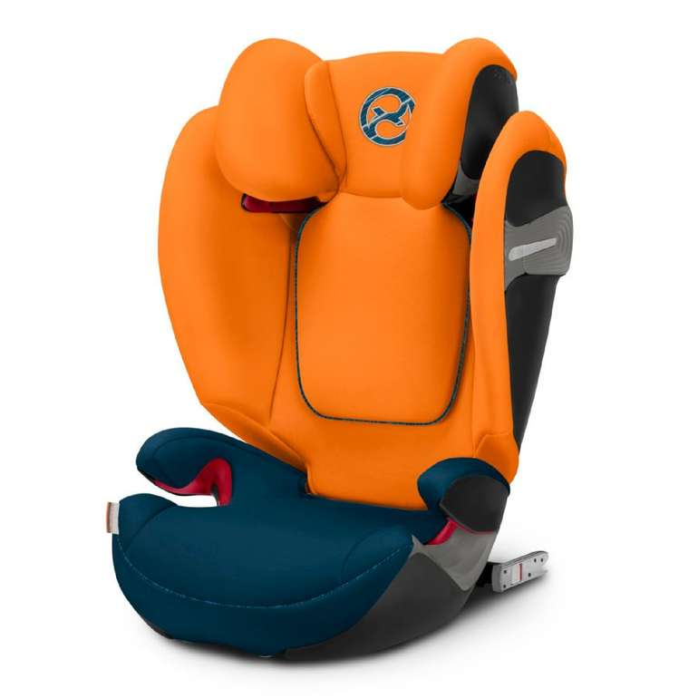 Cybex Gold Kindersitz Solution S-Fix Tropical Blue für 122,99€ inkl. Versand (statt 145€)
