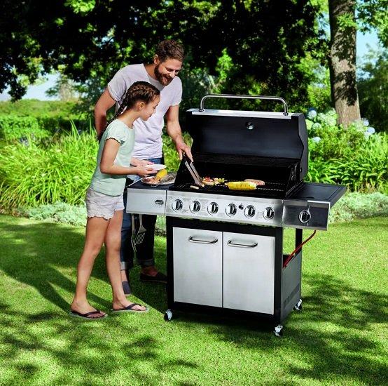 Kamino Big Family BBQ Gasgrill mit Seitenbrennern für 319,94€ (statt 500€)