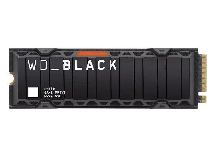 WD SN850 mit Kühlkörper Festplatte, 1 TB SSD PCI Express, intern für 215,99€ inkl. Versand (statt 250€)