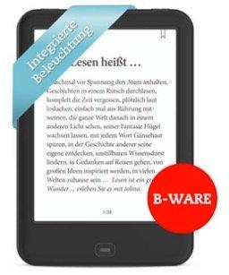 50% Rabatt auf aufbereitete E-Reader - z.B. Tolino Vision 4 HD für 84,50€
