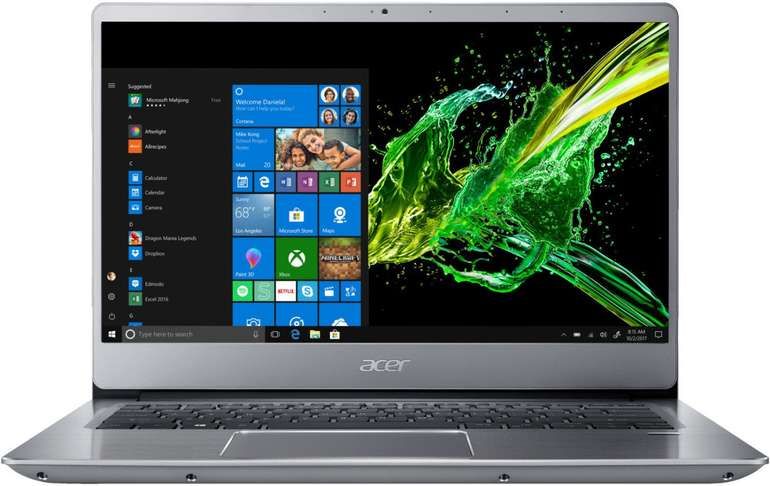 "Acer Swift 3 (SF314-56G-75M9) - 14"" Multimedia Notebook (i7, 12 GB RAM, 512 GB SSD) für 903,99€ inkl. Versand"