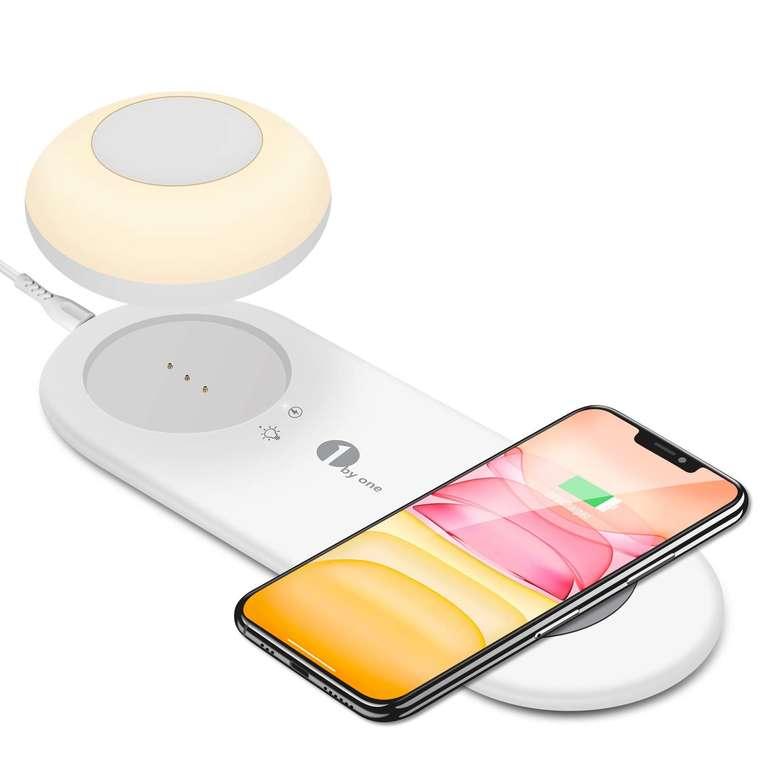 1byone LED Nachtlicht mit Ladefunktion für 12,23€ inkl. Prime Versand (statt 24€)
