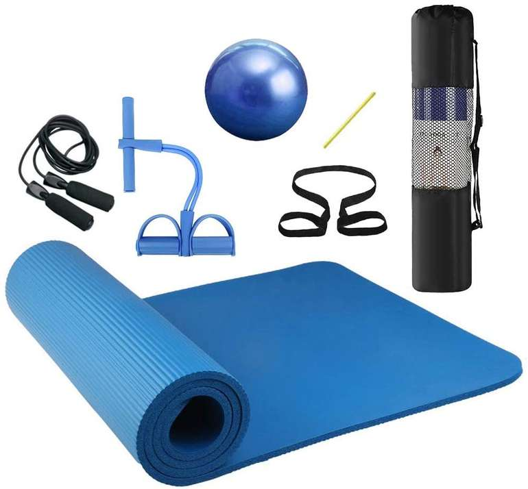 Lixada 7-teiliges Yoga- und Fitness Set für 21,44€ inkl. Versand (statt 39€)