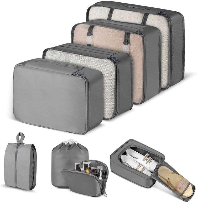 2 Artikel günstiger bei Amazon dank Gutscheincode, z.B. 8-teiliges CISHANJIA Organizer Kofferset für 5,99€
