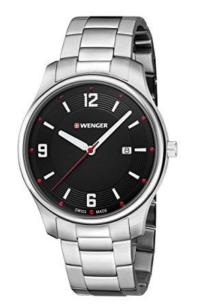 Wenger Herren Analog Quarz Armbanduhr für 47,36€ (statt 99€)