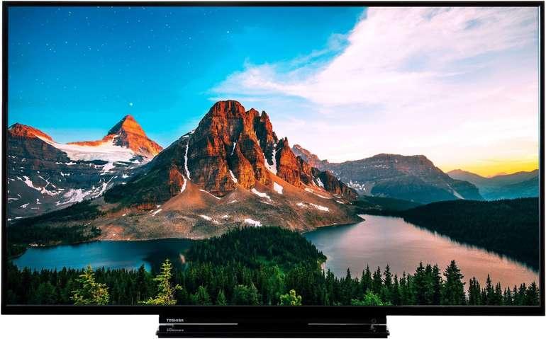 """Toshiba 49V5863DA - 49"""" Ultra HD 4K LED Smart TV für 299,90€ (statt 349€)"""