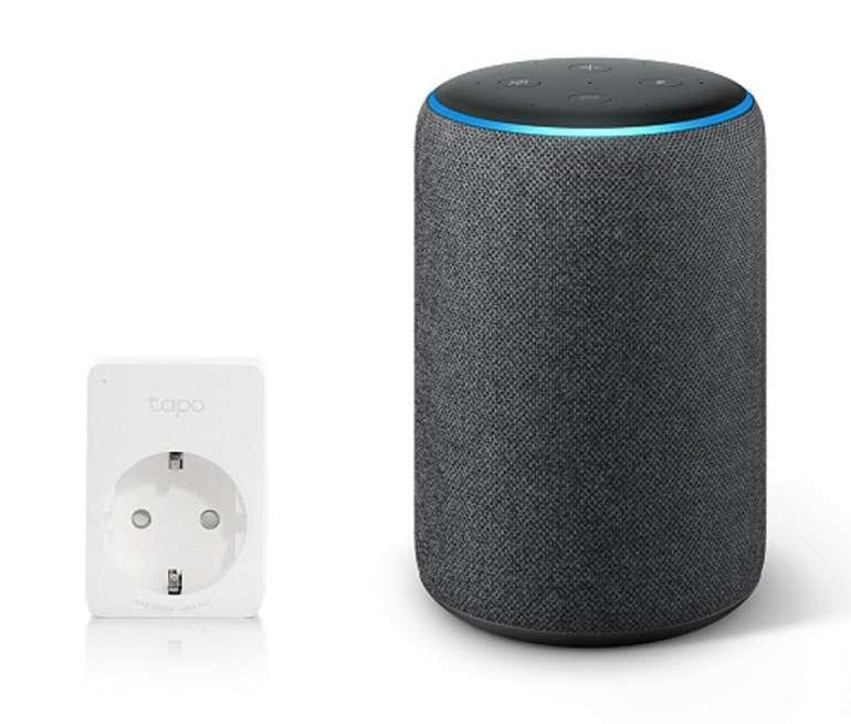 Amazon Echo Plus (2. Generation) mit smarter Steckdose Tapo P100 für 105,94€ inkl. Versand