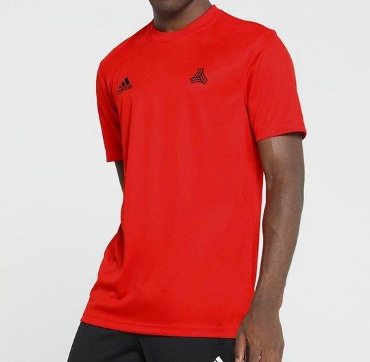Riesen großer Adidas Sale für Kinder, Damen & Herren, z.B. Rotes T-Shirt 16€
