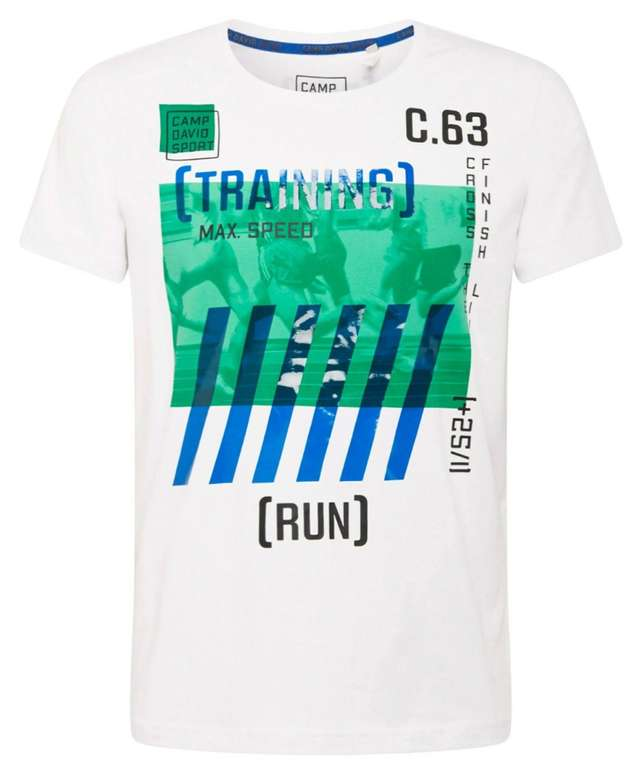 Camp David T-Shirt in marine / royalblau für 17,45€ inkl. Versand (statt 35€)