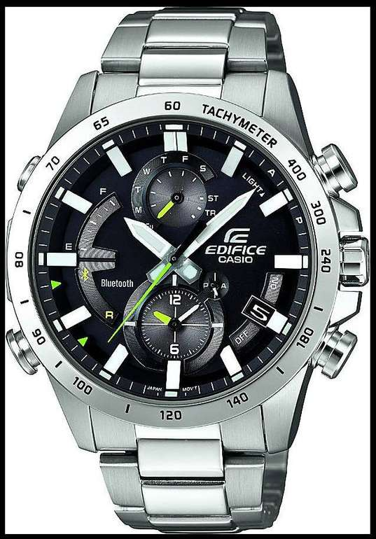 Casio Chronograph Edifice EQB-900D-1AER Herrenuhr für 194,11€ (statt 243€)