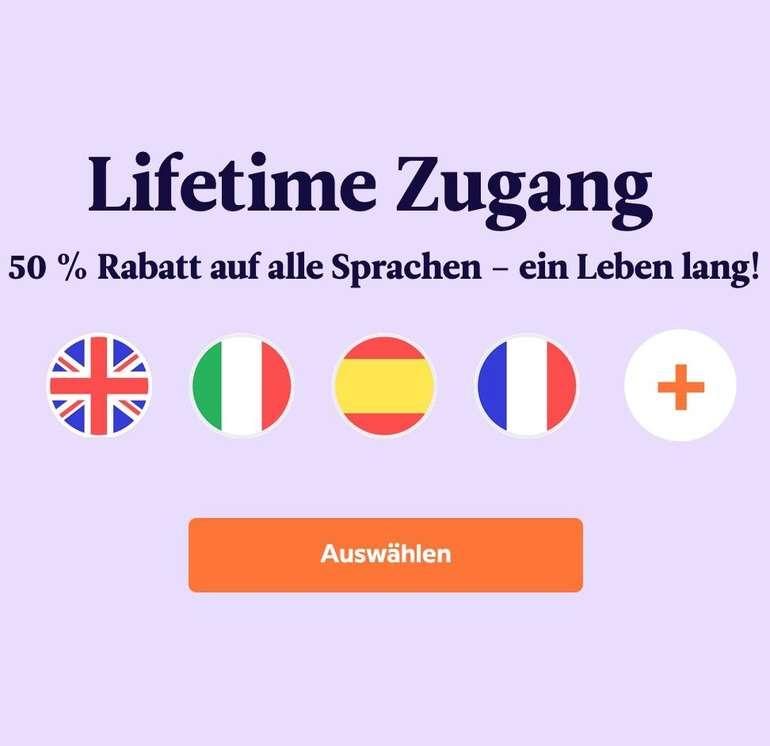 Babbel Lifetime Zugang - 50% Rabatt auf alle Sprachen - ein Leben lang! Jetzt für 159,99€ (statt 320€)