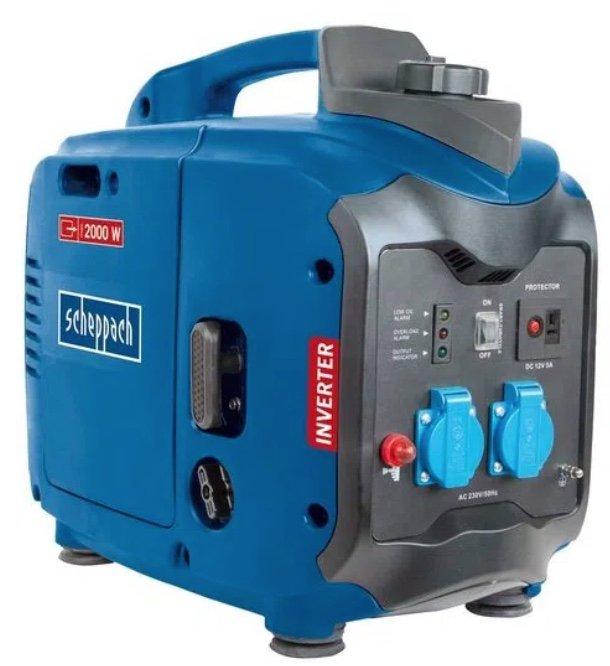 Scheppach SG2000 Inverter Stromerzeuger mit 2000 Watt für 292,43€ inkl. Versand (statt 349€)