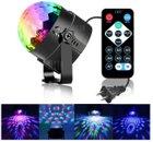 YouOKLight Discolicht mit 3W RGB und 3 LEDs + Fernbedienung für 6,83€