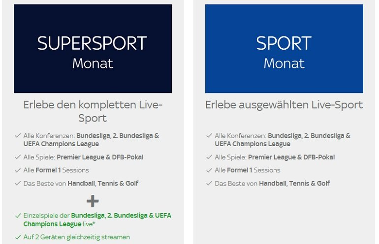 Sky Sport Ticket 2